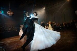 Debutantes dance at London ball
