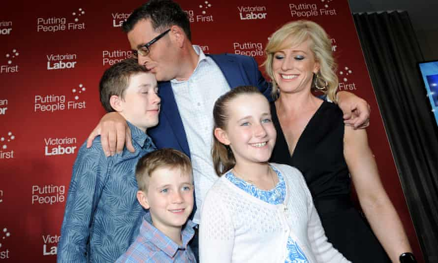 Daniel Andrews and family