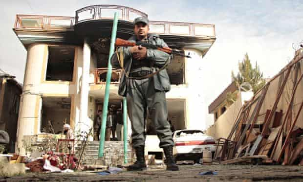 Taliban attack in Kabul, Afghanistan