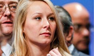 Marion Marechal-Le Pen attends their congress in Lyon