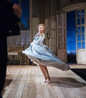 Rosalie Craig in Miss Julie at the Minerva Theatre in 2014