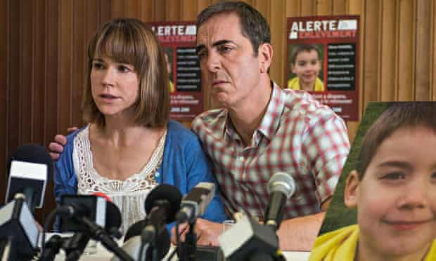 Frances O'Connor and James Nesbitt in a scene from The Missing.