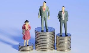 men women pay scale