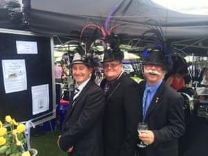 Rick Lansdown, Brett Ould and Steve Brown