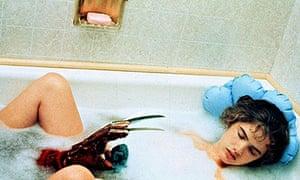 """Heather Langenkamp in 1984's A Nightmare on Elm Street"""