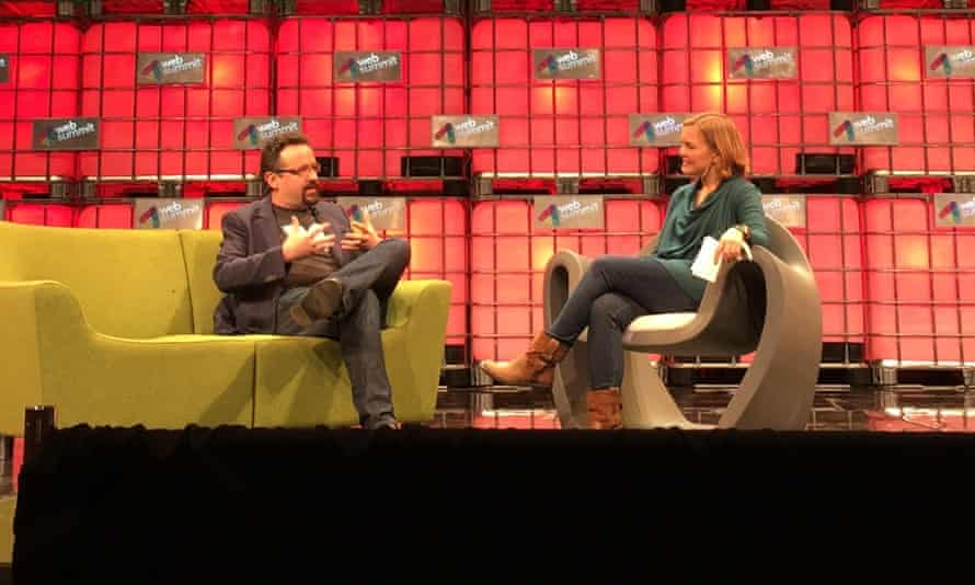 Evernote's Phil Libin at the Web Summit conference.