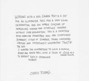 Chris Riddell words