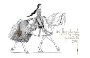 Queen on horseback