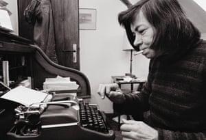 Patricia Highsmith typewriter