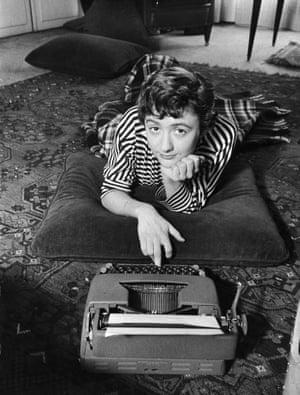 Francoise Sagan typewriter