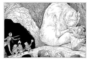 Cave troll spread