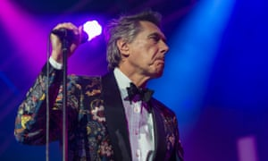 Bryan Ferry wearing a lovely jacket at the Baloise Session in Basel, Switzerland last month.