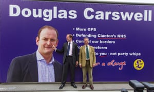 Douglas Carswell's defection from the Conservatives shocked Westminster and led to him being the first elected MP for Ukip.