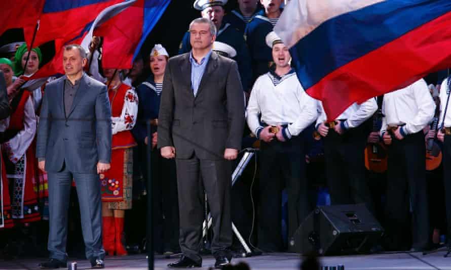 Crimea prime minister Sergei Aksyonov