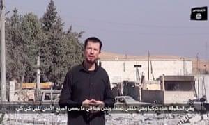 British reporter John Cantlie.