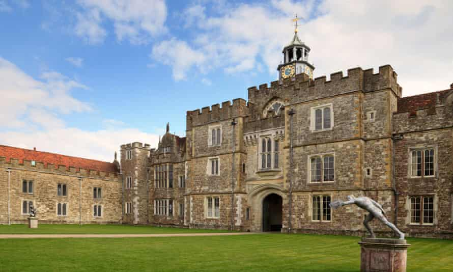 Courtyard at Knole.