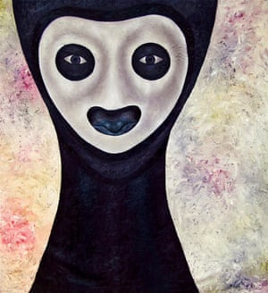 Untitled (Masquerade Series) by Anthony Okello