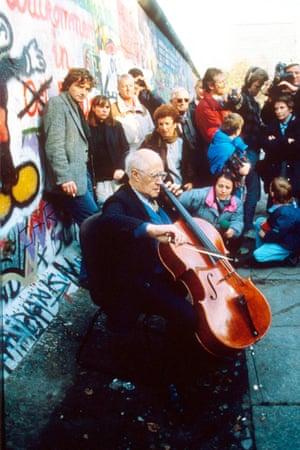 Mstislav Rostropovich in 1989