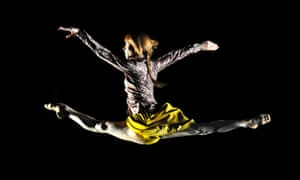 Sylvie Guillem in Mats Ek's Bye at Sadler's Wells in London, which is where her final performances i