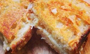 Deb Perelman's grilled cheese sandwich