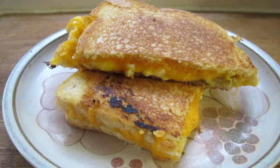 William Leigh's grilled cheese sandwich