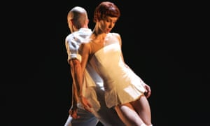 Sylvie Guillem and Russell Maliphant in the ballet Push in 2005.