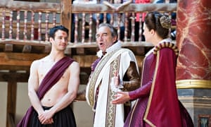 Julius Caesar at the Globe Theatre