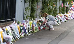 Ann Maguire tributes outside her school