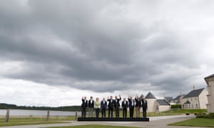 G8 leaders at the 2013 summit at Lough Erne, Northern Ireland