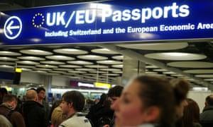 UK passport control