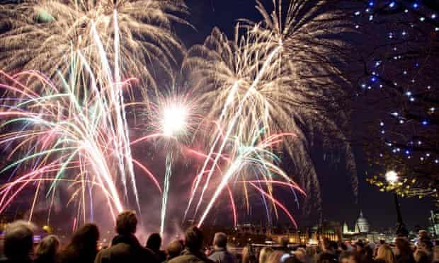 Southbank fireworks display