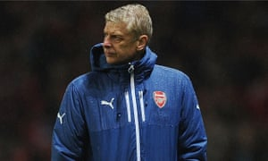 Arsène Wenger was not happy