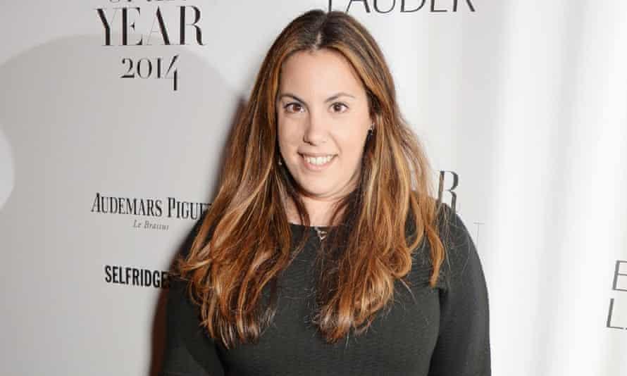 Mary Katrantzou attends the Harper's Bazaar Women Of The Year awards 2014