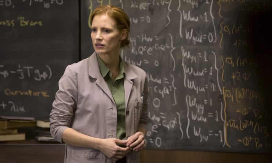 Jessica Chastain mathematics Interstellar