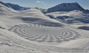 snow art