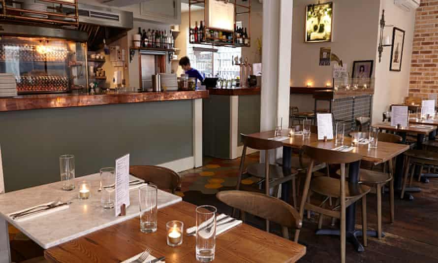 Le Coq restaurant dining room