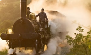 On the right track … cinematographer Dick Pope imitates Turner's colour palette and visual style.
