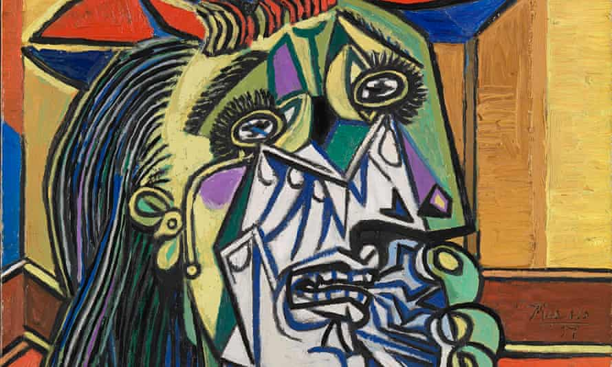 Pablo Picasso,Weeping Woman, 1937