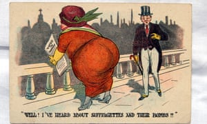 Part of Hunter Davies' collection of suffragette material.