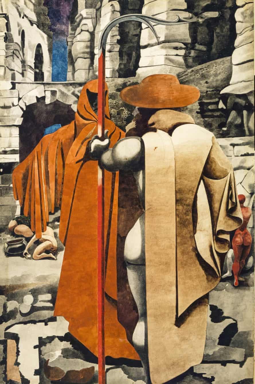 The Watcher, c 1937, by Edward Burra.