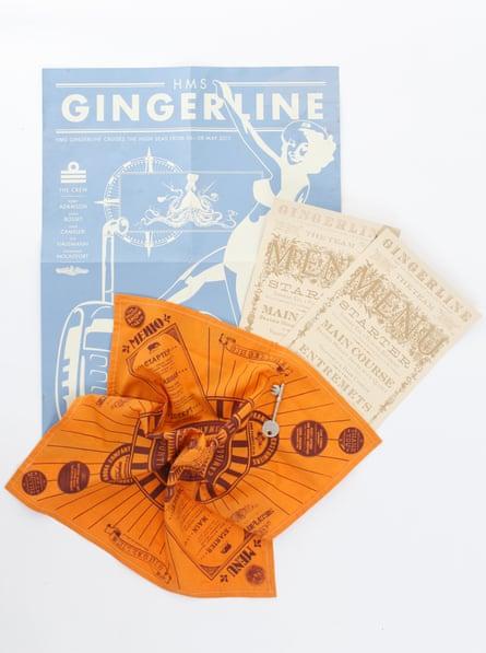 Gingerline Clandestine Dining Experience  £55 gingerline.co.uk