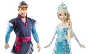 Disney Frozen Elsa and Kristoff
