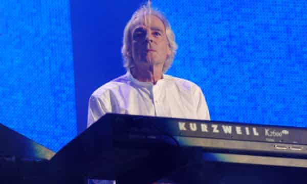 Pink Floyd's Rick Wright at the 2005 Live8 concert.