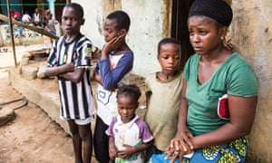 Orphans in Sierra Leone  kamaras