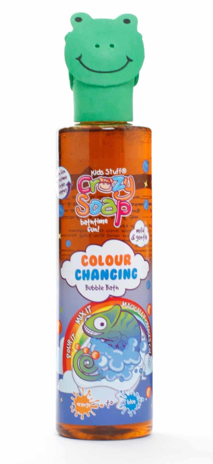 Kid's Stuff Crazy Colour bubble bath £2 sainsburys.co.uk