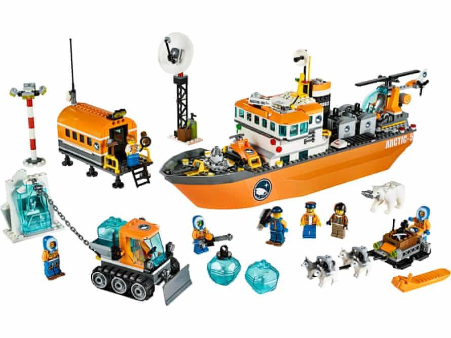 7. Lego Arctic icebreaker £79.99 shop.lego.com