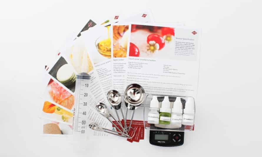 8. Molecular gastronomy kit £69.99 msk-ingredients.com