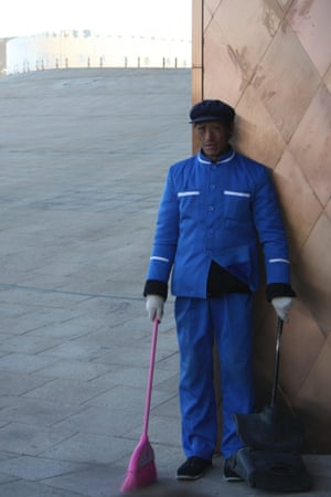 Wang Yuanxiang was moved off his land and into Kangbashi in 2012