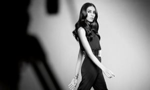 Lea T in the new campaign for Redken