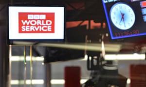 World Service sign